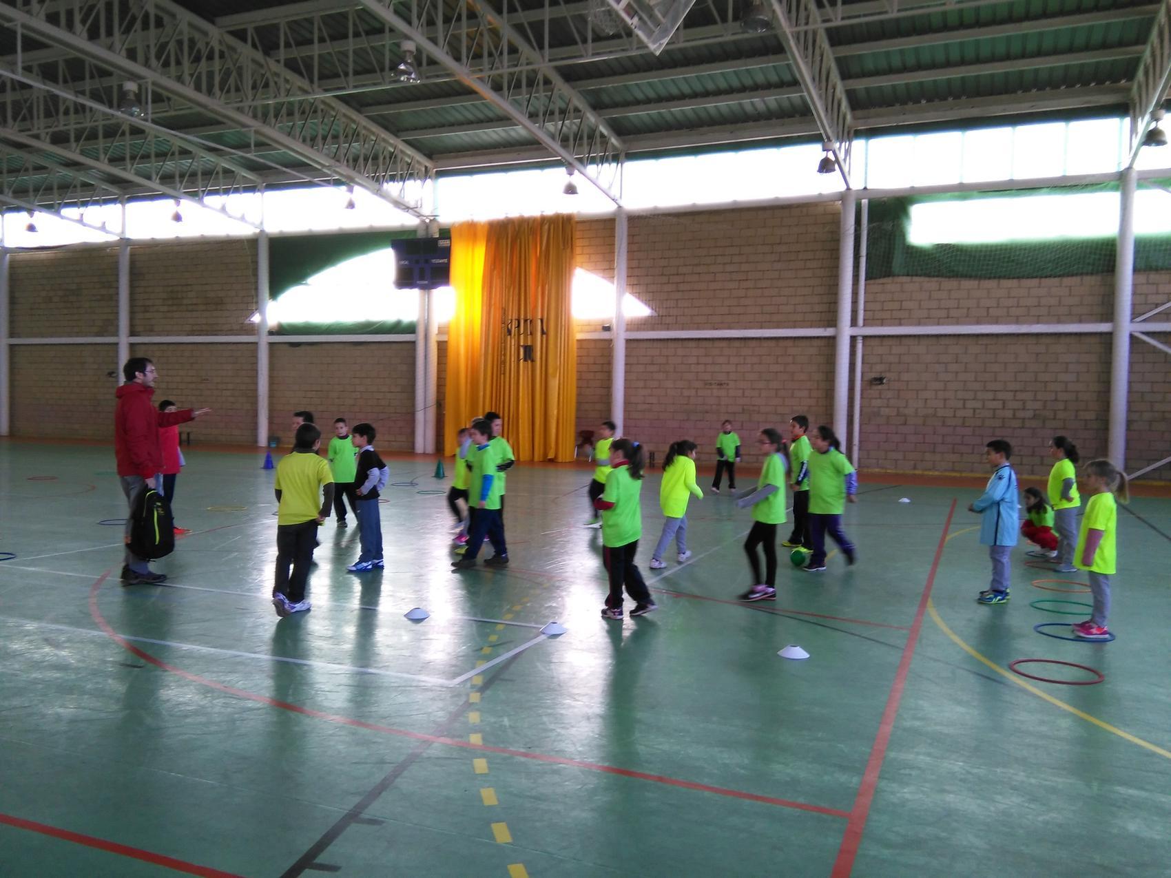Argamasilla de Calatrava inaugura las actividades de multideporte 2015 de la zona Valle de Alcudia-Montes Sur