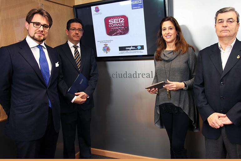 La alcaldesa presenta la app de la Semana Santa de Ciudad Real