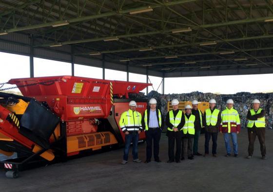 La Diputación Provincial adquiere nuevos equipos mecánicos para el tratamiento de Residuos Sólidos