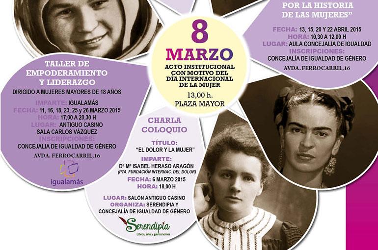 El Día Internacional de la Mujer en Ciudad Real contará con charlas, talleres y una gala homenaje a la mujer