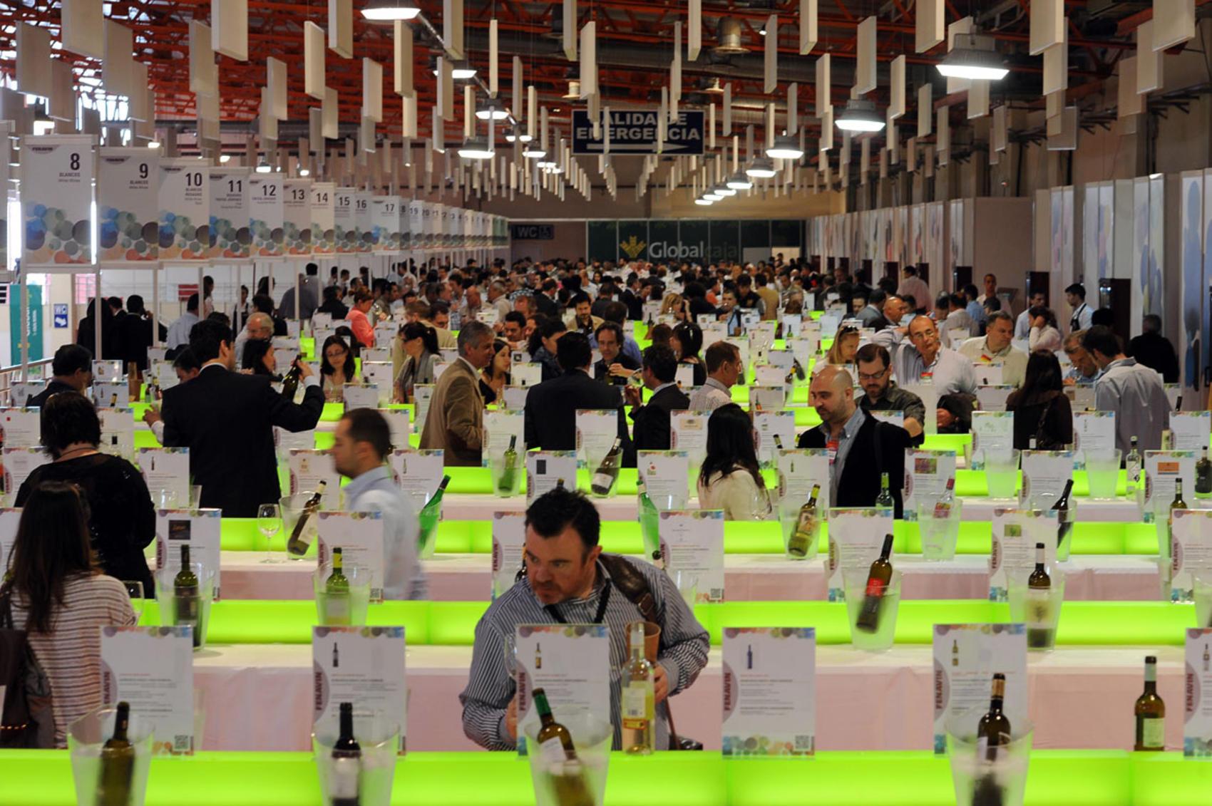 La Galería del Vino Globalcaja de FENAVIN contará con más de 1.400 referencias en condiciones óptimas para la cata