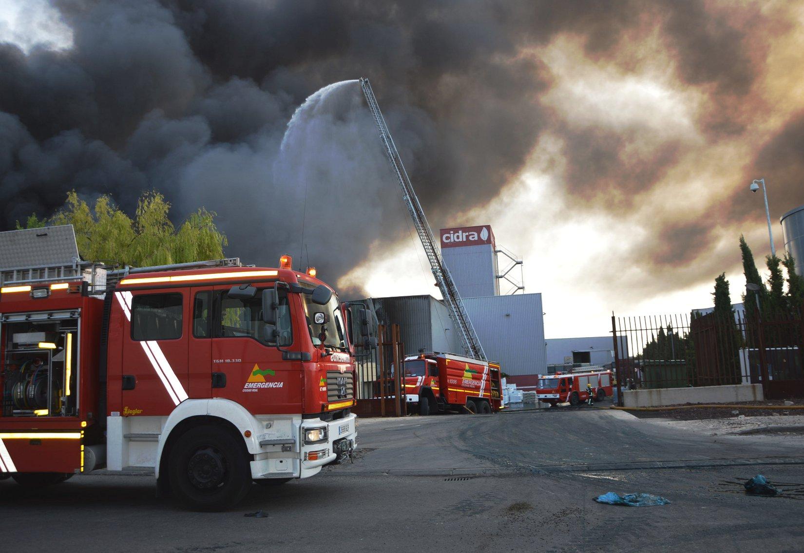 Controlado el incendio en CIDRA