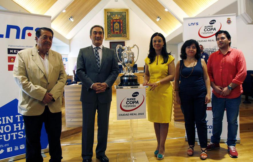 El Quijote Arena acogerá la Supercopa de España de fútbol sala