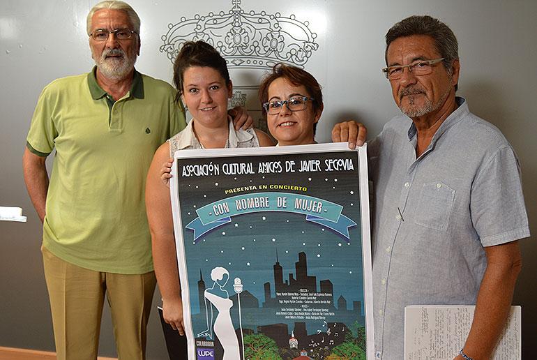 """Los Amigos de Javier Segovia presentarán en los Jardines del Prado """"Nombre de Mujer"""""""