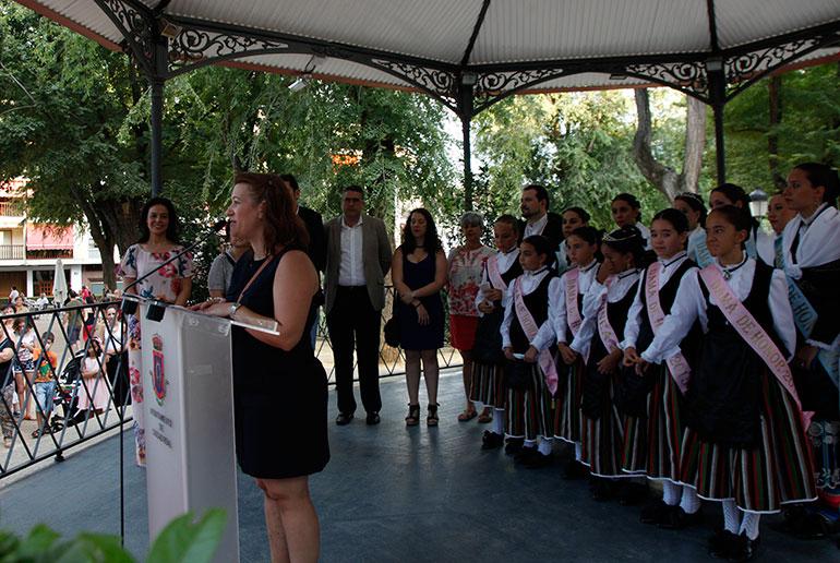 Noelia Paulero anima a los ciudadrealeños a disfrutar de la Feria y Fiestas desde los Jardines del Prado