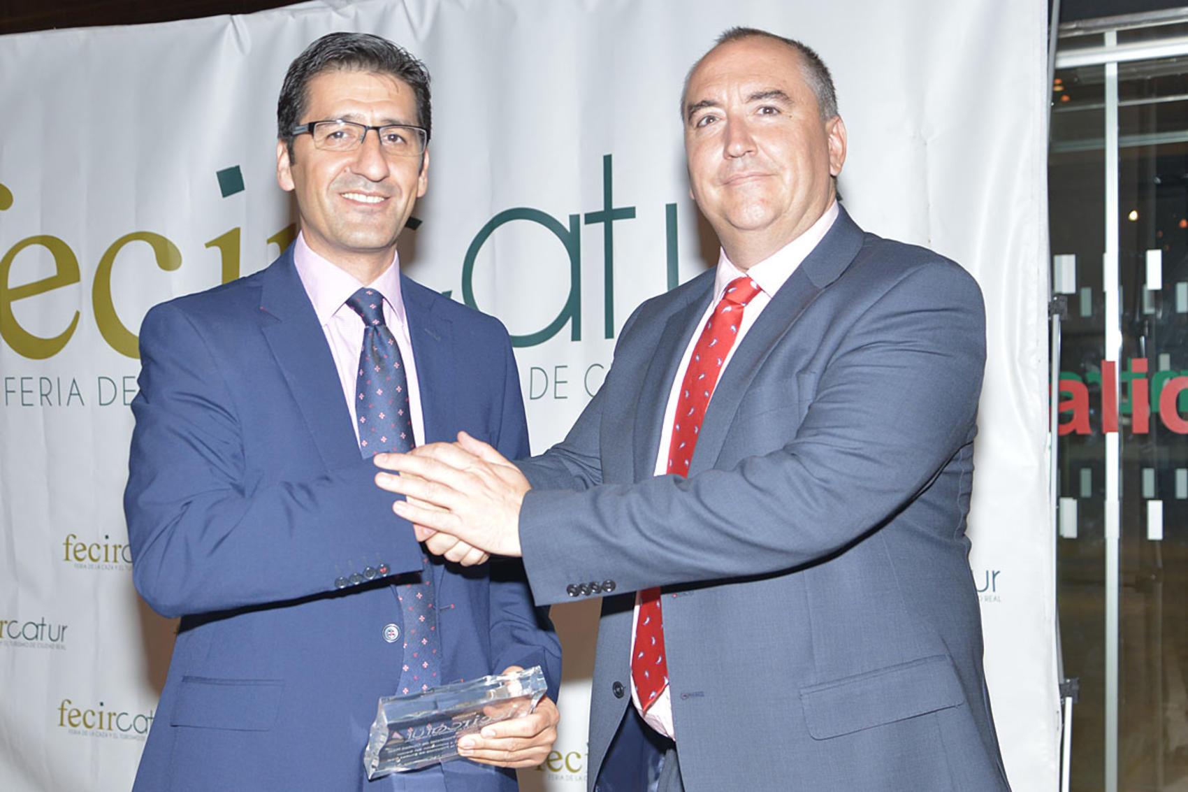 La organización de la Feria de la Caza concede a la Diputación el I Premio FECIRCATUR