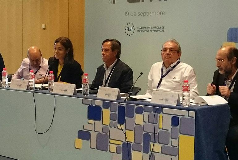 Pilar Zamora elegida miembro de la Junta de Gobierno de la Federación Española de Municipios y Provincias, FEMP