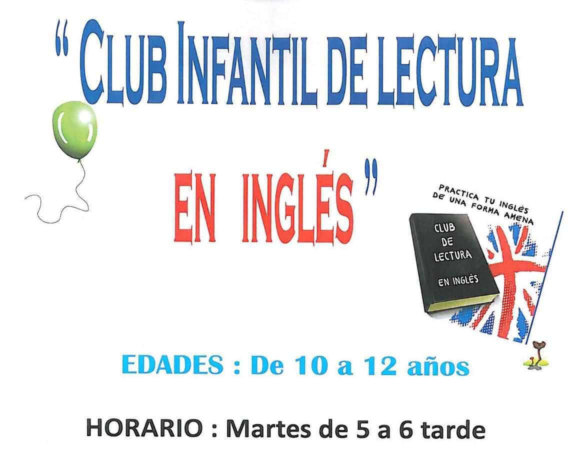 La Biblioteca Municipal de Miguelturra abre el plazo para participar en el «Club infantil de lectura en inglés»