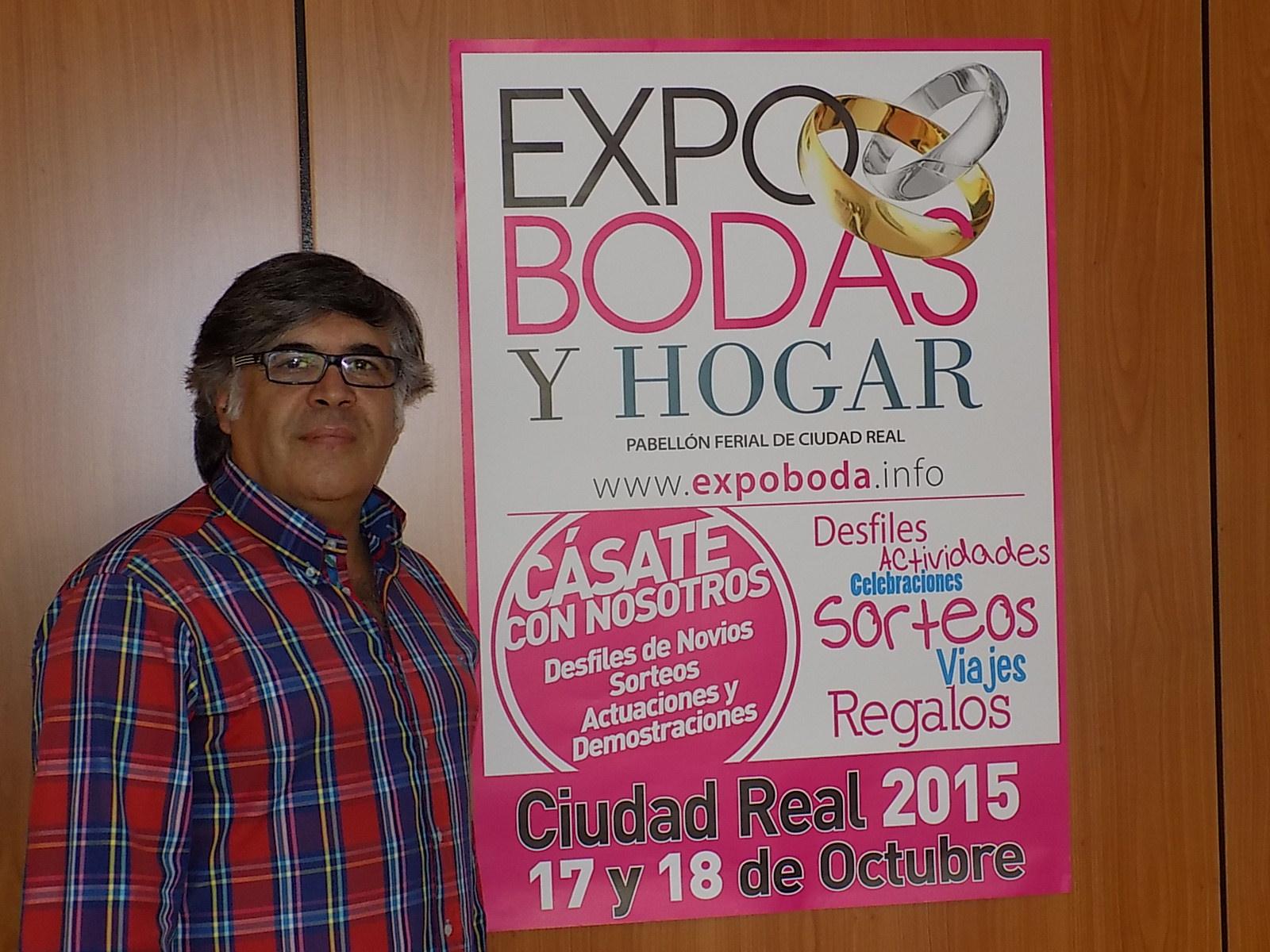 """Manuel Maya: """"Expo Bodas Ciudad Real se va a convertir en la feria de referencia en Castilla –La Mancha"""""""