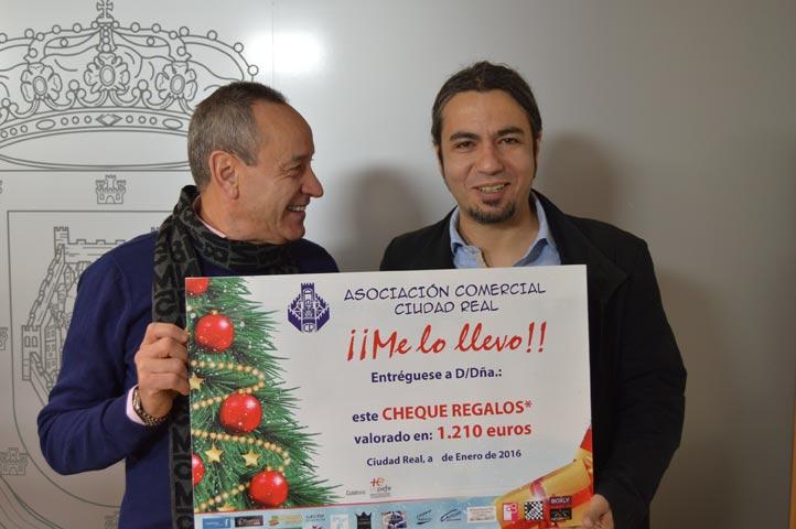 La Asociación Comercial de Ciudad Real sortea 1.200 € entre quienes realicen sus compras navideñas