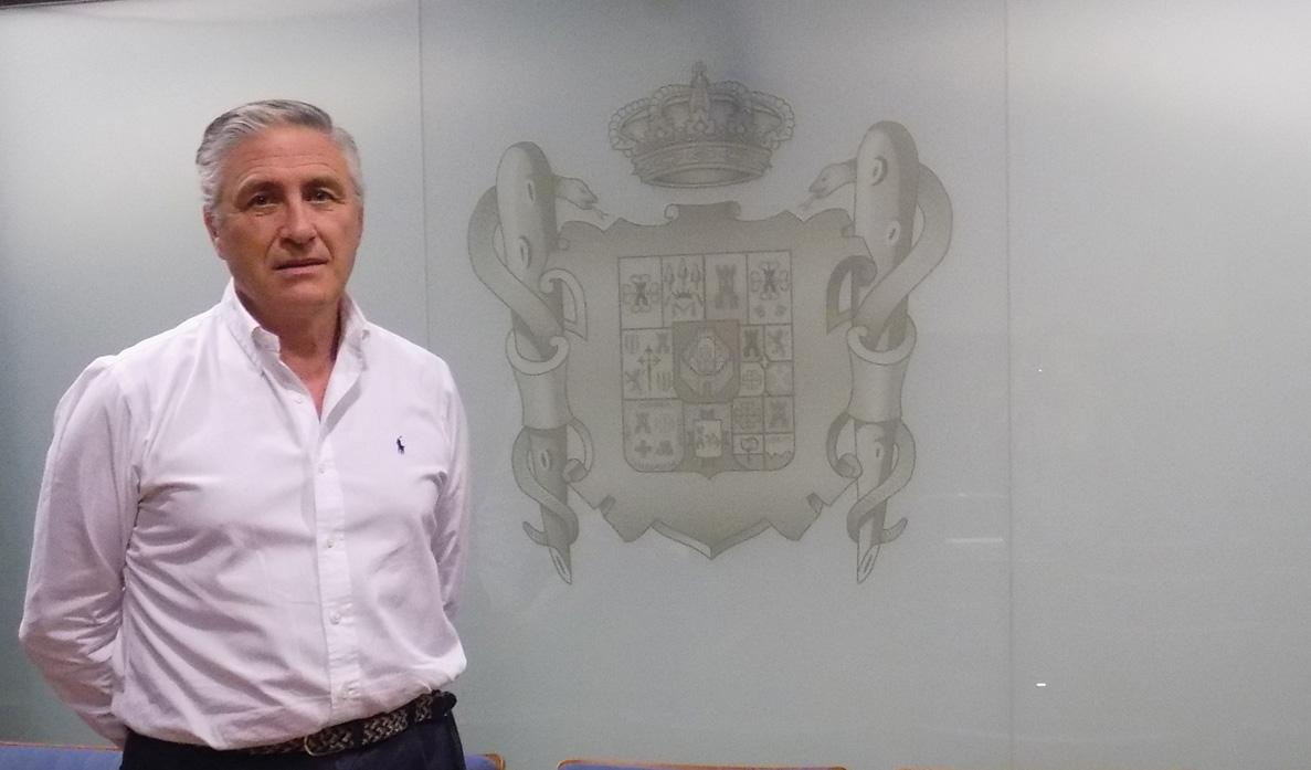 José Molina. Presidente del Colegio de Médicos de Ciudad Real