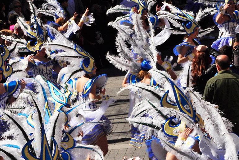 El Concurso Nacional de Carrozas y Comparsas del Domingo de Piñata repartirá 22.200 euros en premios