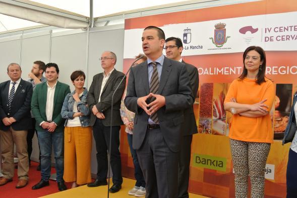 Abre la 'I Muestra Agroalimentaria Regional' dentro de la estrategia de promoción de los alimentos de calidad diferenciada de Castilla-La Mancha