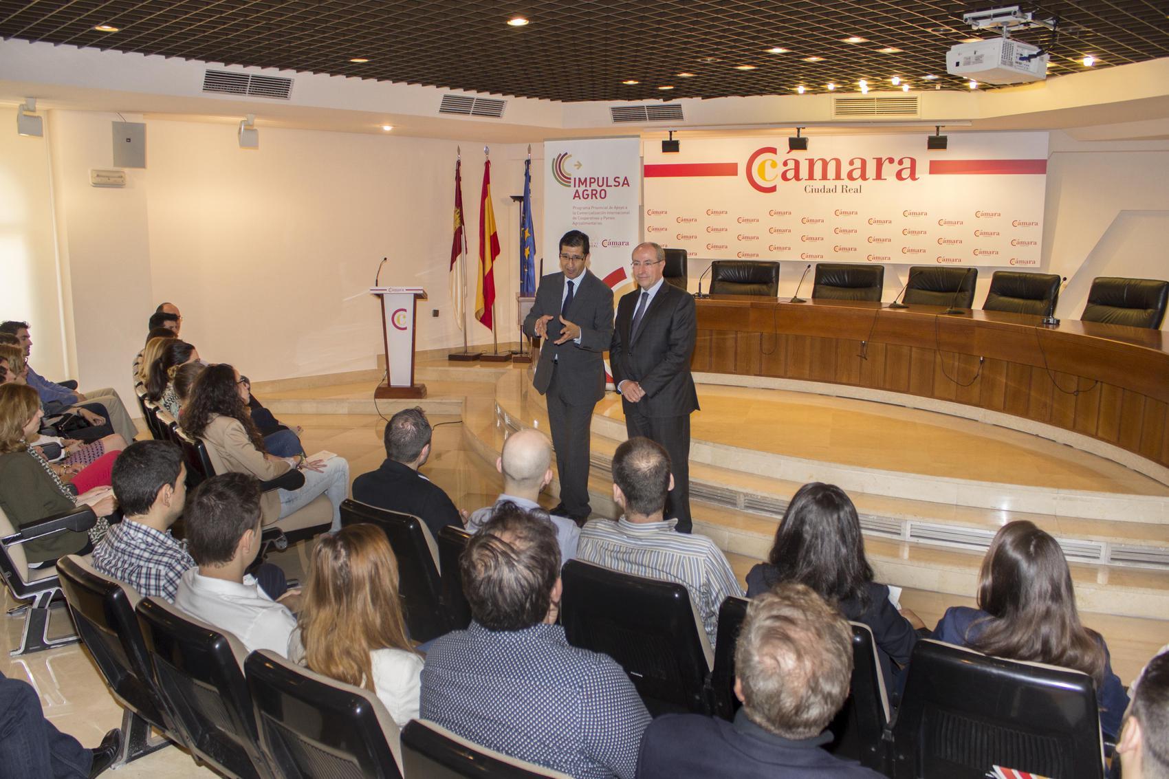 La Diputación apoya la internacionalización en el sector agroalimentario y retiene el talento