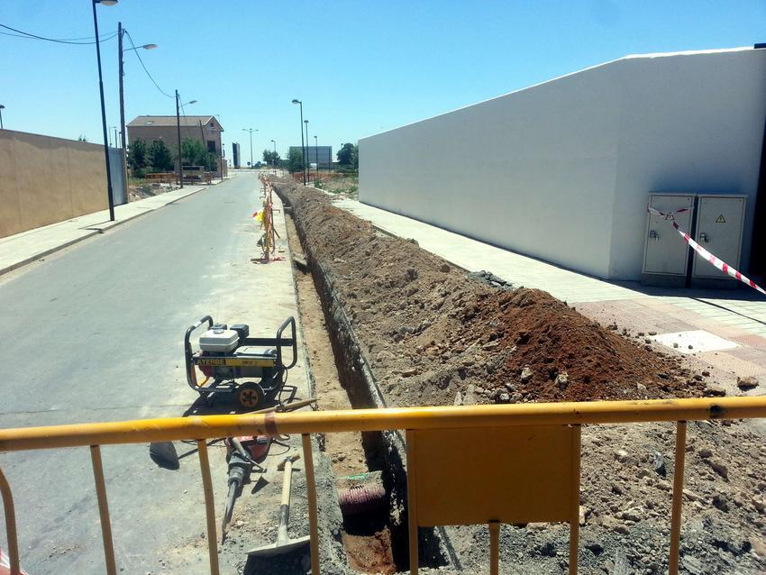 El Ayuntamiento de Carrión de Calatrava acomete obras de creación de depósito de recogida y bombeo de aguas pluviales para evitar inundaciones