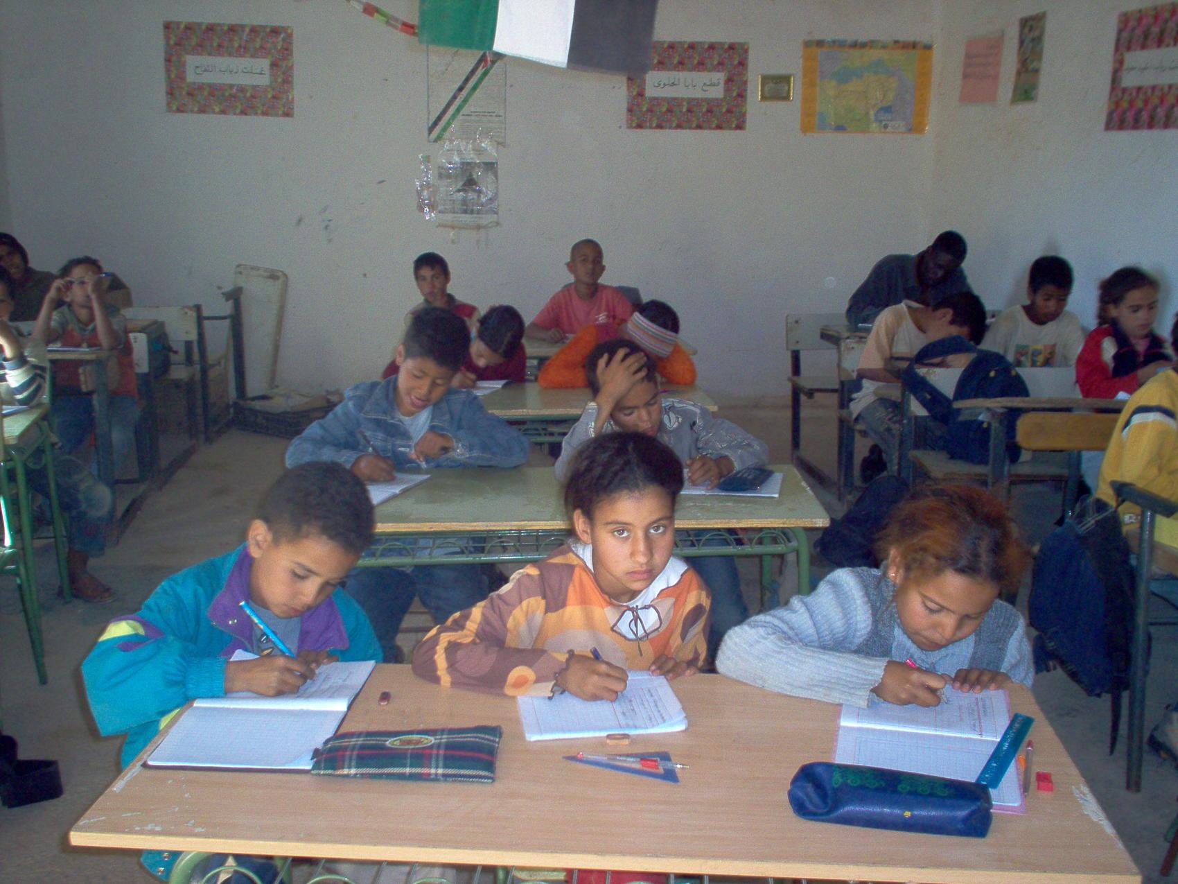 Los niños saharauis de Vacaciones en Paz viajan a España gracias a la Diputación