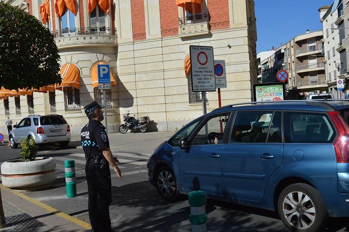 Semipeatonalizado el primer tramo de la calle Toledo como experiencia piloto para peatonalizar el centro de Ciudad Real