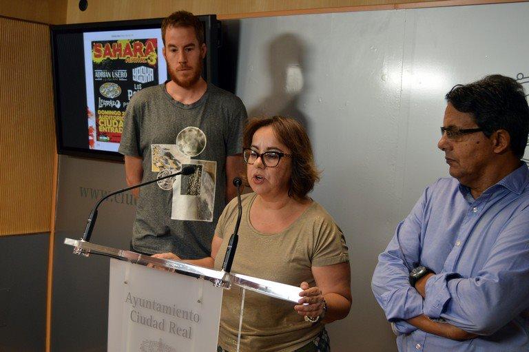 Madraza y Ayuntamiento suman esfuerzos para paliar las fuertes lluvias en el III Festival Sahara