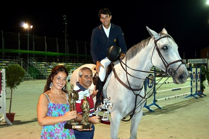 """José Juan Fumero vencedor del Gran Premio """"Ayuntamiento de Ciudad Real"""" del Concurso Hípico"""