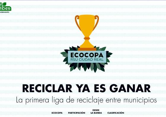 La EcoCopa, liga de reciclaje entre municipios de Ecoembes y Consorcio RSU de Ciudad Real, entra en su último mes de concurso