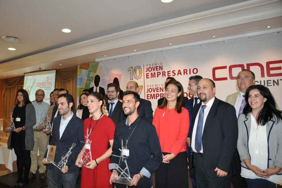 AJE Ciudad Real entrega sus premios Joven Empresario y Joven Emprendedor