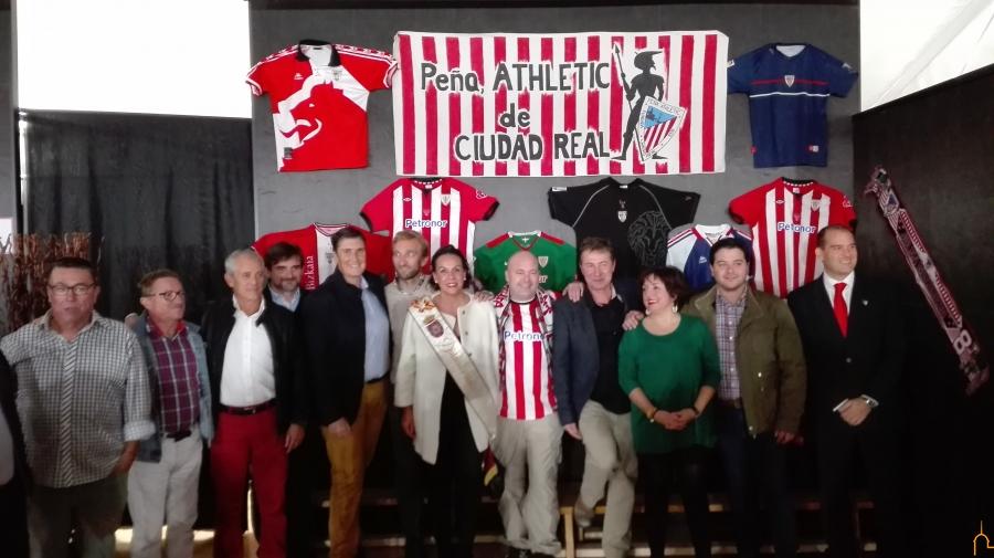 La Peña Athletic Club de Bilbao de Ciudad Real celebra el 40 aniversario de su fundación