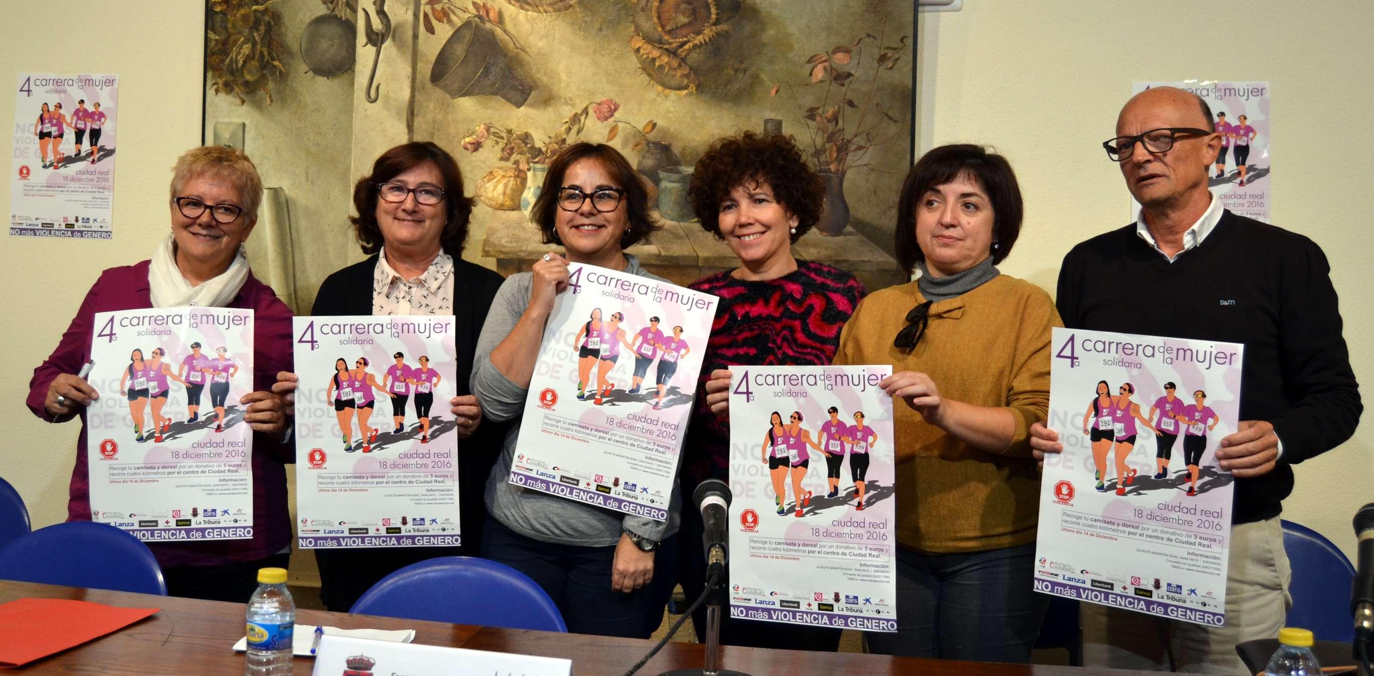 da63e927607 La 4ª Carrera de la Mujer Solidaria de Ciudad Real, este año contra la  violencia