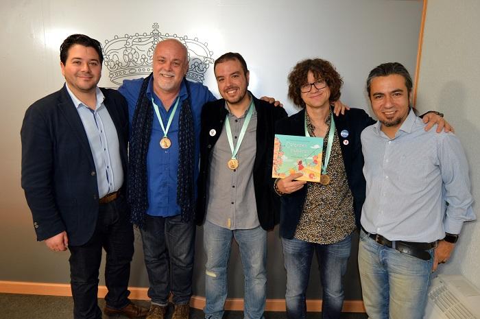 """Veleta Roja agradecen todos los apoyos recibidos tras la nominación a los Grammys Latinos de """"Canciones y Palabras"""""""