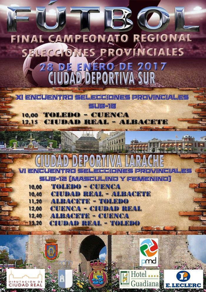 CAMPEONATO REGIONAL SELECCIONES PROVINCIALES