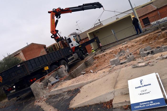 """Valverde despide las aulas prefabricadas del CEIP """"Alarcos"""""""