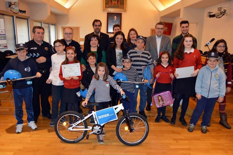 2.660 alumnos participan en el XXI concurso de Pegatinas de Educación Vial de la Policía Local de Ciudad Real