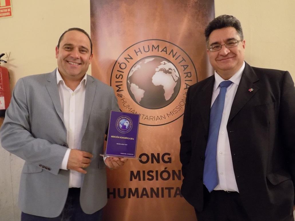 La Revista Ayer&hoy, distinguida con una mención honorífica en los I Premios de la ONG Misión Humanitaria