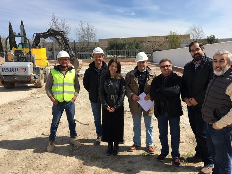 Las obras de los nuevos almacenes municipales estarán concluidas antes de que acabe este año
