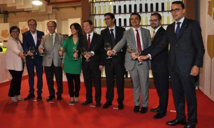 Inauguración de la novena edición de la Feria Nacional del Vino (FENAVIN) en Ciudad Real