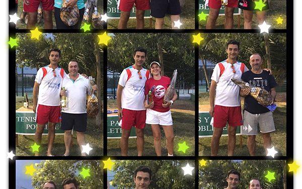 Celebrado el Torneo de Pádel del Jamón en el club de Tenis y Pádel Poblete
