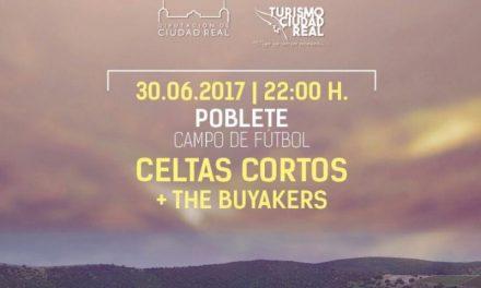 """El grupo """"Celtas Cortos"""" actúa el viernes en el campo de fútbol de Poblete"""