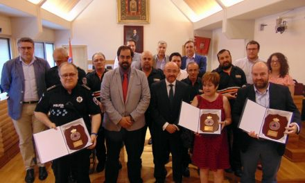 Un Policía Local condecorado con la Medalla al Mérito de Protección Civil Ciudad Real
