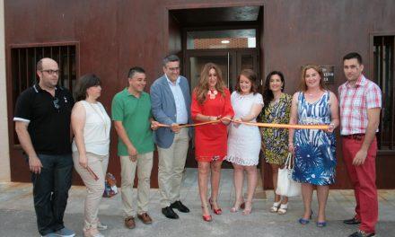 Carrión inauguró el nuevo edificio anexo a El Torreón, BIC, en la apertura de su 28ª Semana Cultural, que protagonizó la Banda Sinfónica juvenil