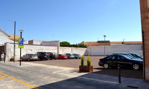 Carrión de Calatrava cuenta con un nuevo parking público en pleno centro histórico
