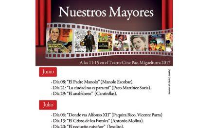 """Comienza en Miguelturra el ciclo """"Cine español con nuestros mayores"""""""