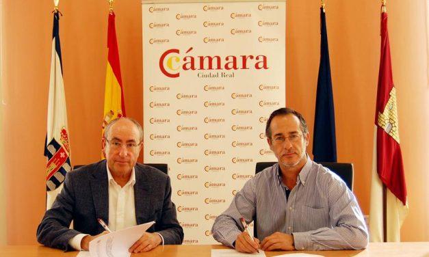 Cámara de Comercio y Ayuntamiento de Poblete suscriben un convenio para promoción del emprendimiento y creación de empresas