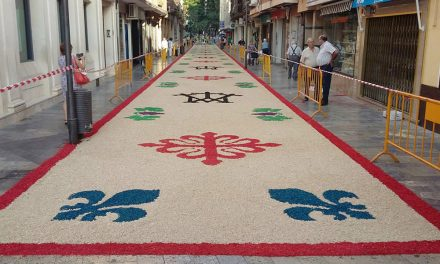El jueves finaliza el plazo para presentar los diseños de la próxima alfombra floral en honor a la Virgen de las Cruces