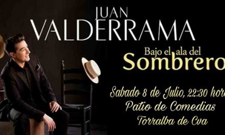 Juan Valderrama actuará este fin de semana en el Ciclo de Música en los Patios