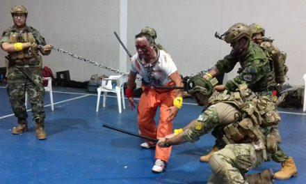 El punto de control del juego de los zombis estará en el Pabellón Municipal