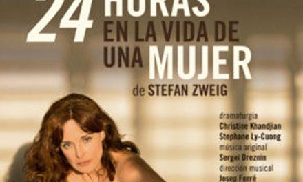 Silvia Marsó abrirá el VII Festival Internacional de Teatro y Títeres con la obra '24 horas en la vida de una mujer'