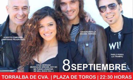Torralba volverá a la época dorada de los años 80 y 90 con el concierto de 'La Edad de Oro del Pop Español'