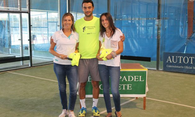 El pasado fin de semana se celebró el torneo LOVE PÁDEL en las instalaciones de Tenis y Pádel Poblete,