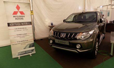 Agritrasa Motor, en Fecircatur 2017, con el potente y cómodo pick-up Mitsubishi L200