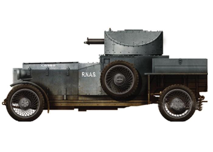 Lawrence de Arabia, a la guerra en Rolls-Royce