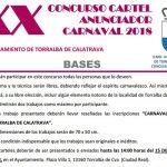 Abierto el plazo para presentar propuestas de cartel para el Carnaval 2018 de Torralba de Calatrava
